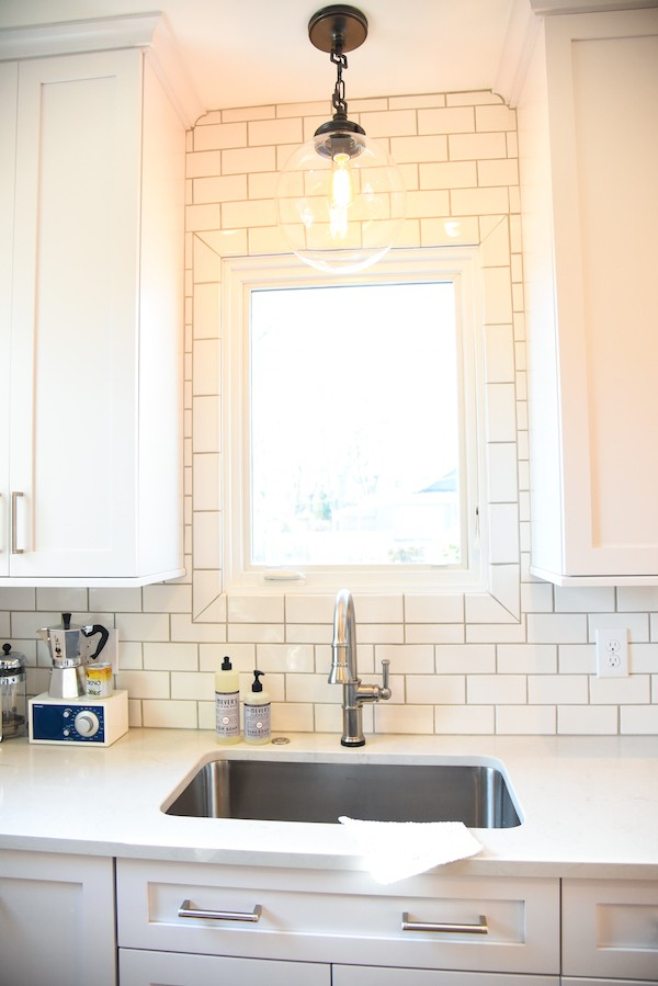 Foxes Love Lemons Dream Kitchen - A complete renovation from a small, dark, poorly laid out space to a bright, clean and efficient white kitchen. | foxeslovelemons.com