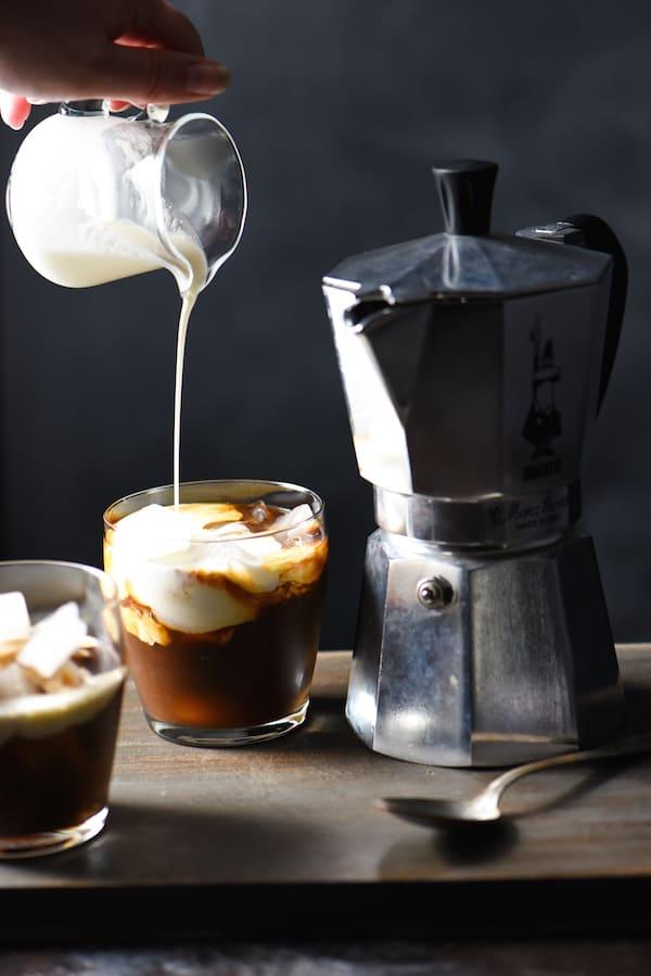 Hazelnut Espresso White Russians