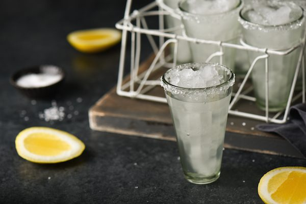 Lemon Drop Margaritas - Don't have any limes around? Use this recipe for margaritas made with lemons instead. The bright, fresh lemon flavor is actually very similar to a traditional margarita. | foxeslovelemons.com