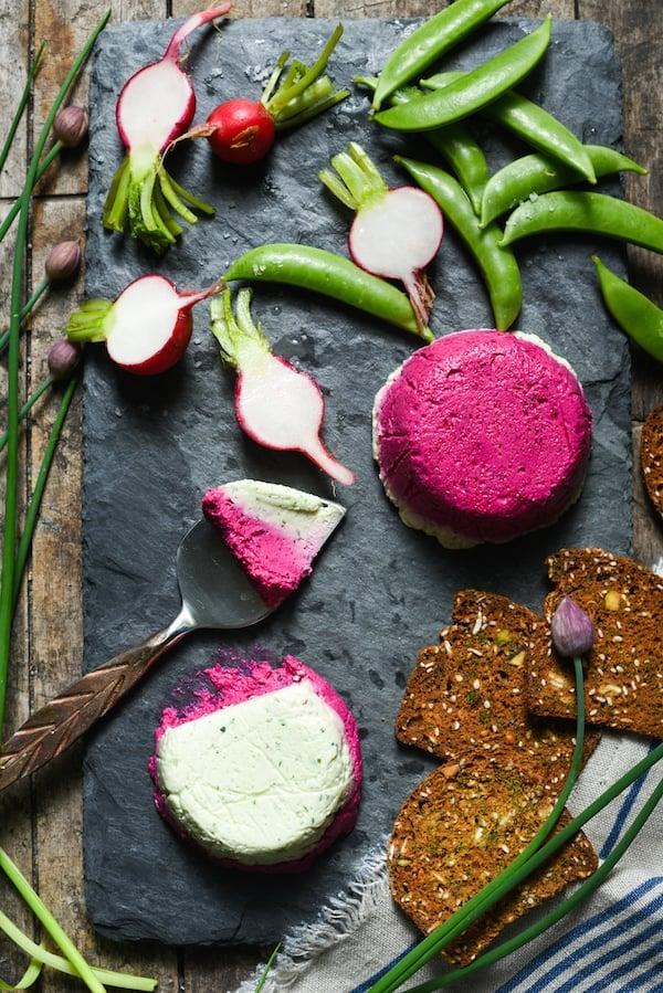 Feta Terrines with Spring Vegetables