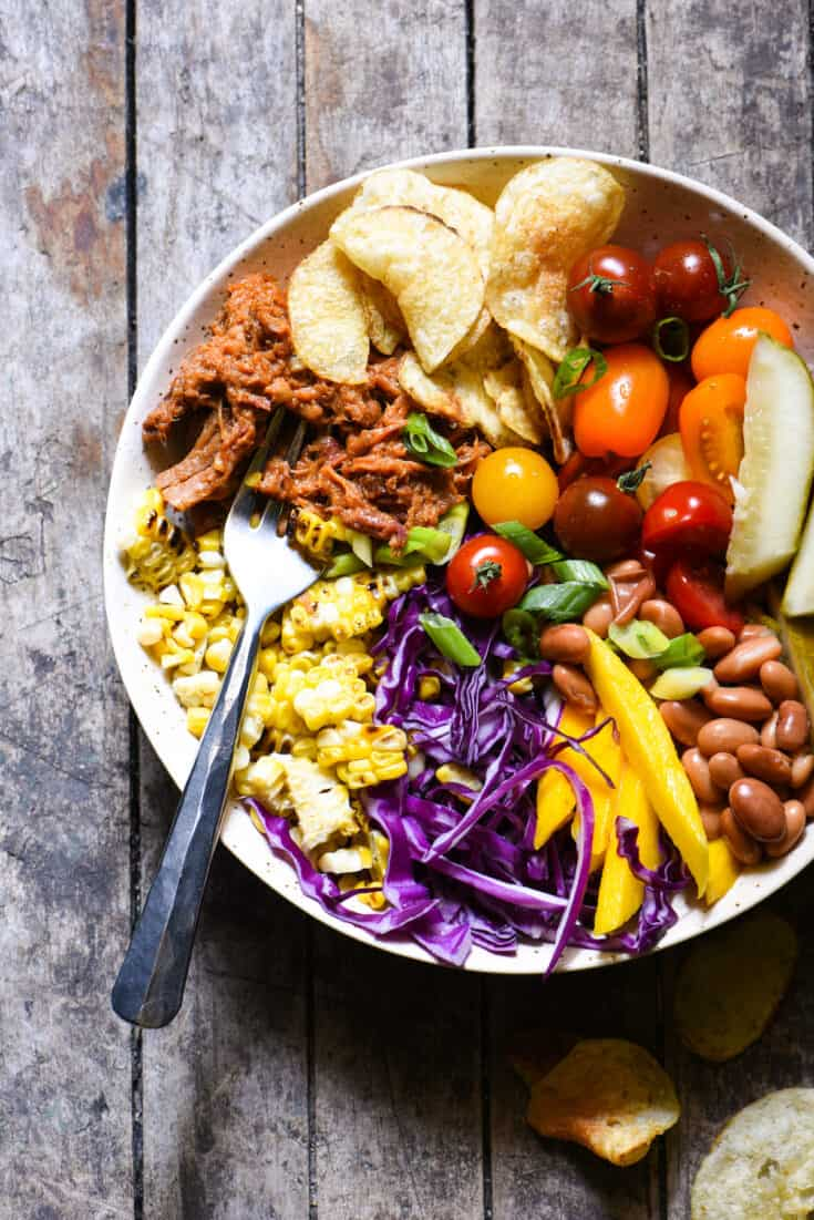 BBQ Party Dinner Bowls