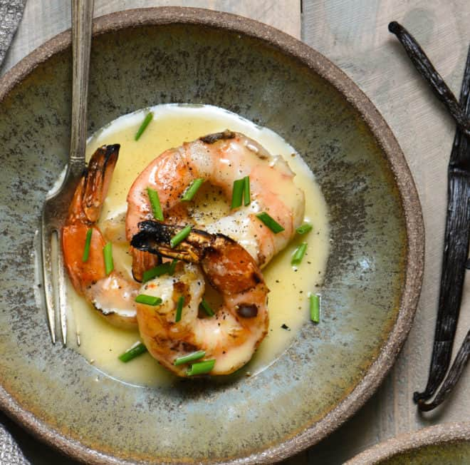 Classic Beurre Blanc Recipe: Grilled Shrimp With Vanilla Beurre Blanc