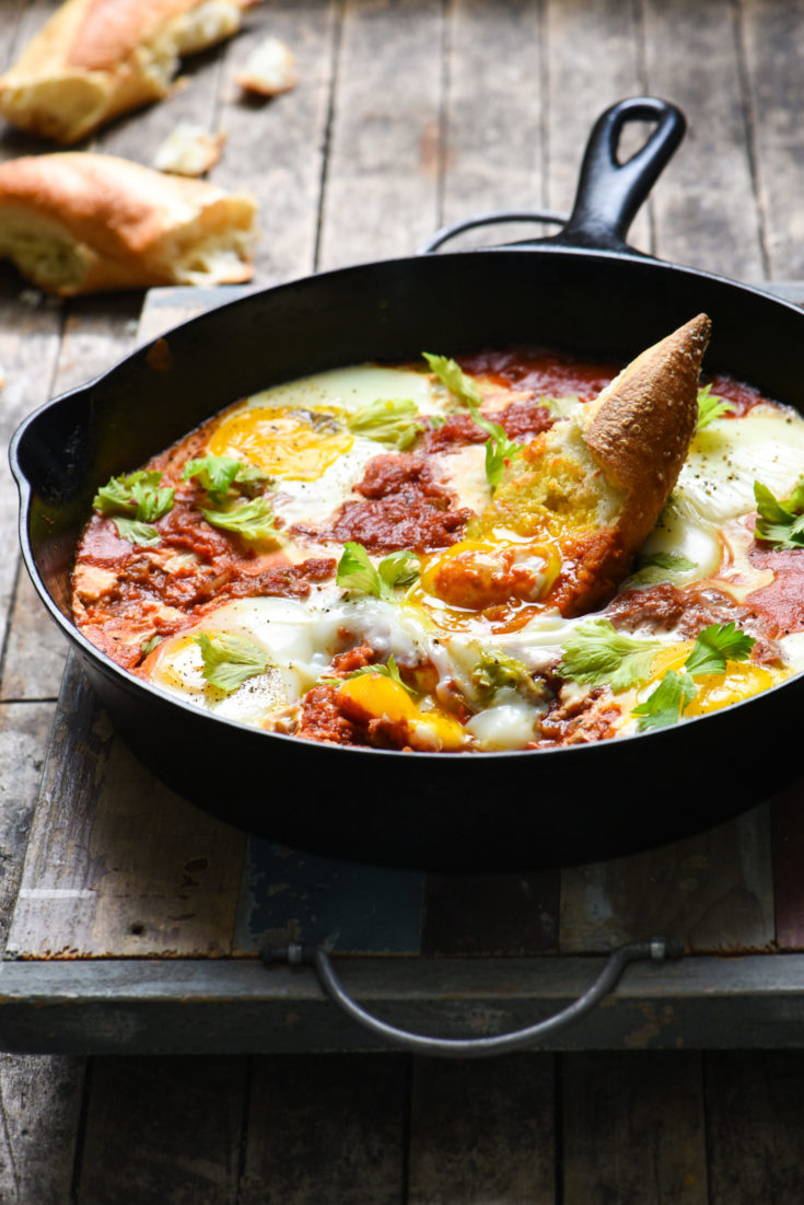 Bloody Mary Shakshuka