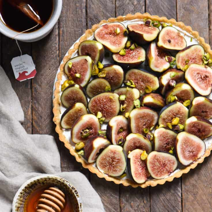 Fig & Spiced Goat Cheese Tart