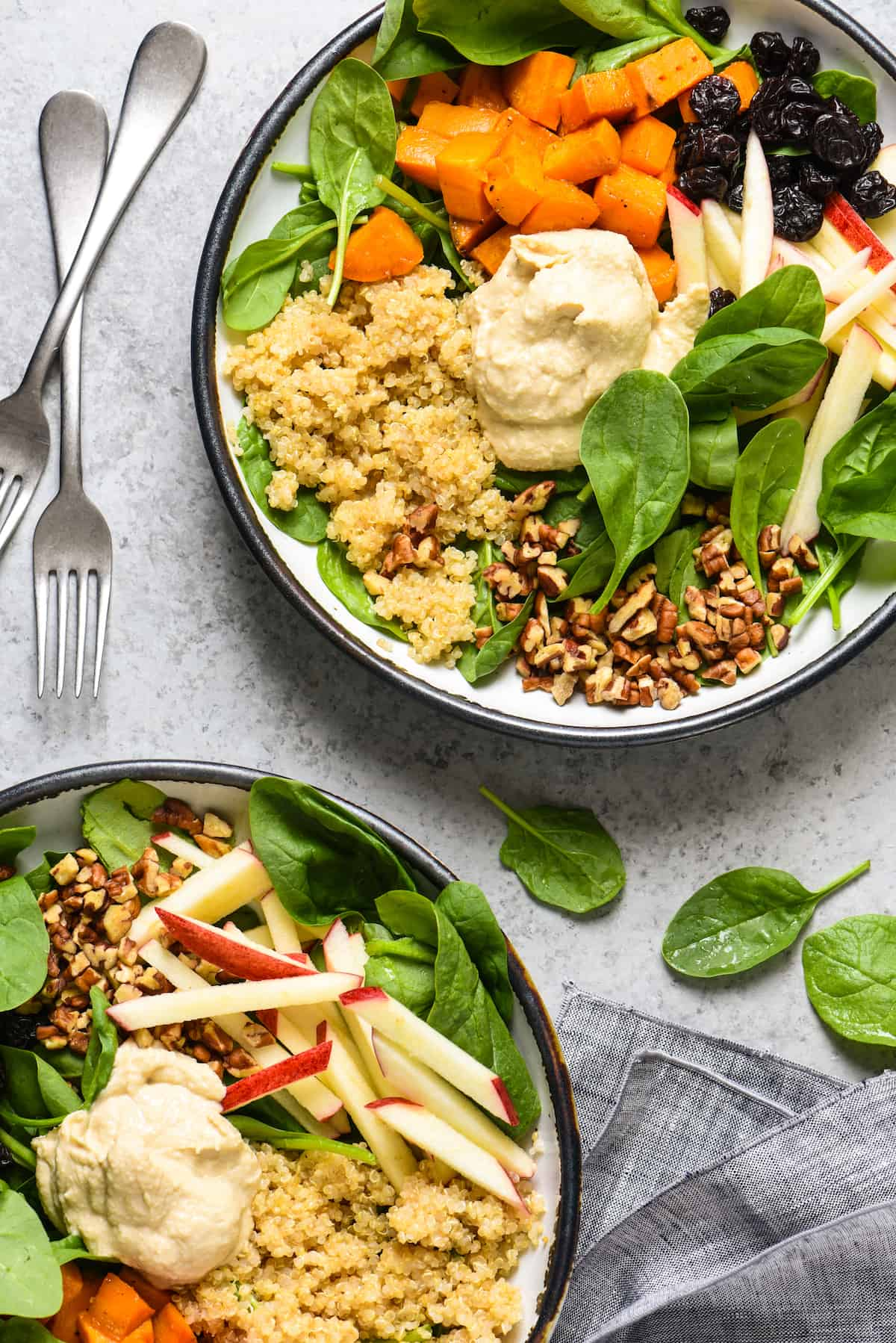 All of the ingredients for this Greens & Grains Power Lunch can be prepped at the start of the week, and you're all set for easy, healthful and delicious meals for days to come! Naturally gluten free, dairy free and vegan!