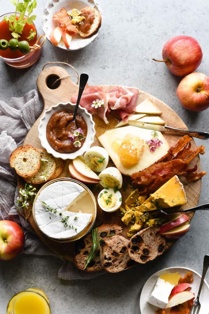 Breakfast Cheese Board / Brunch Cheese Board