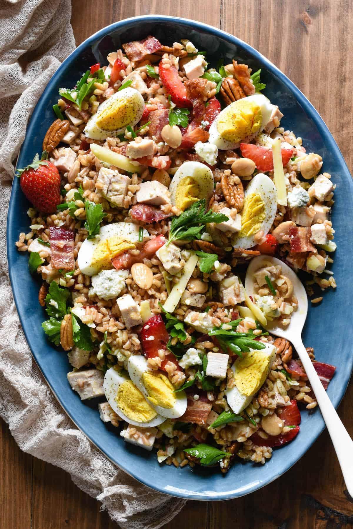 Farro Salad Really Good Farro Salad Foxes Love Lemons