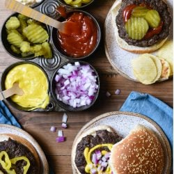 Getting bored with burgers this summer? This Epic Umami Burger Recipe packs such a flavorful punch, you'll never eat a dull burger again. Using ingredients you can find in your pantry or at any grocery store, this is a restaurant-quality burger you can easily prepare at home. | foxeslovelemons.com