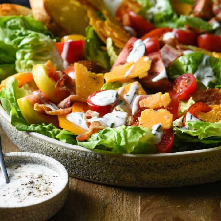 BLT Salad with Aged Cheddar