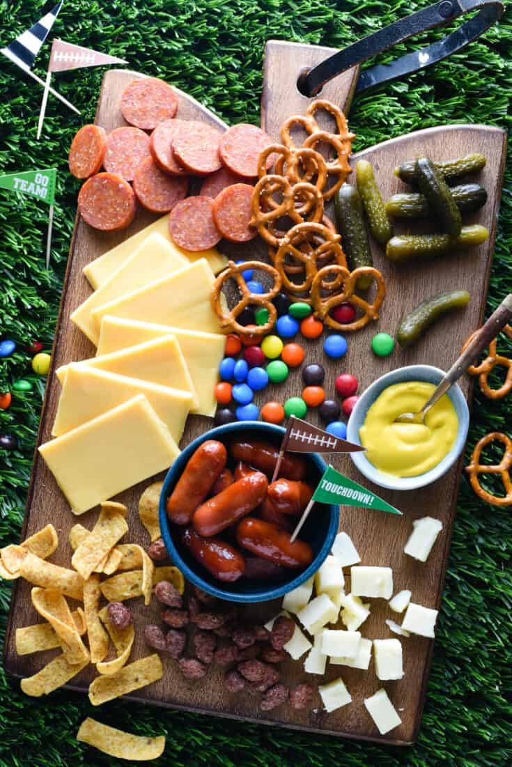 Tailgate Cheese Board