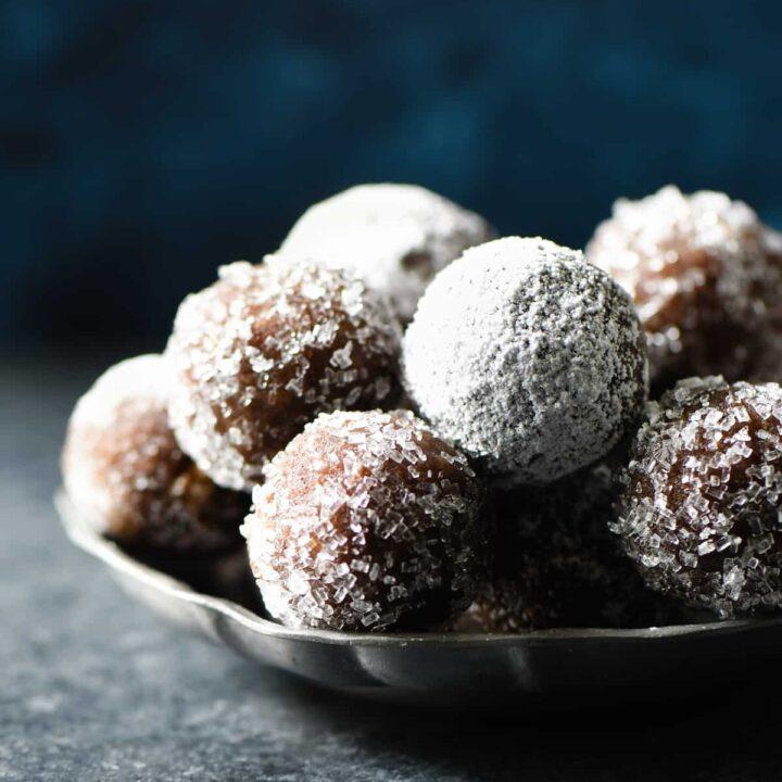 Almond Flour Rum Balls