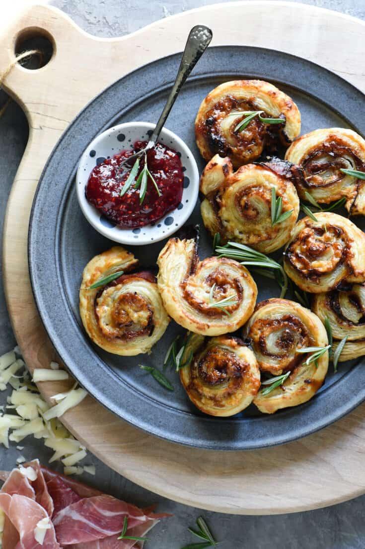 Prosciutto & Cheese Pinwheels