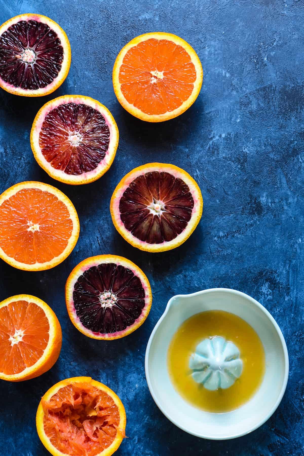 Blood Oranges and Cara Cara Oranges | foxeslovelemons.com